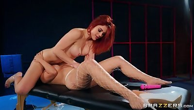 Redhead sex video featuring Molly Stewart with the addition of LaSirena69