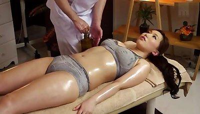 Bonny Japanese MILF Ai Sayama in kinky porn video in office
