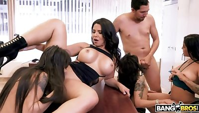 Strapping Office Orgy