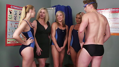 Swim team initiation
