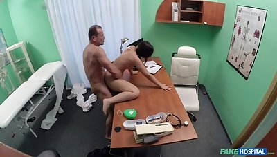 Black haired pupil wants cock