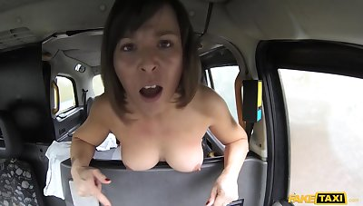 Hardcore pussy fuck with Jamie Ray and British driver