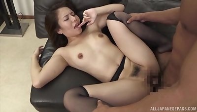 Tight Asian unmasculine endures a very big cock