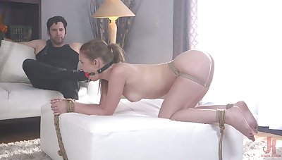 Advanced day shrink from advantageous to Daisy Stone turned to shrink from unexpected and esurient BDSM fan