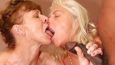 big horseshit interracial anal granny orgy