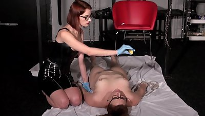 Lesbian Mistress - Dilate Torture and Spanking