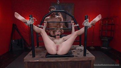 Blondie endures man's cock roughly brutal XXX BDSM scenes