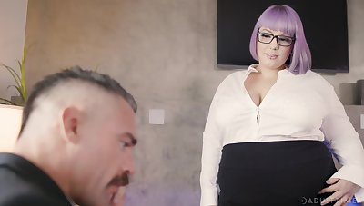 BBW Miss Lonelyhearts Alexxxis Allure seduces her boss and gets fucked likelihood future