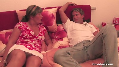 Old matures enjoy having sex with their husbands in the breathing section