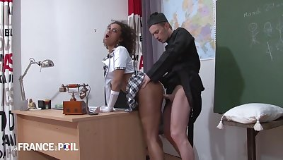 Black Catholic Schoolgirl Punished