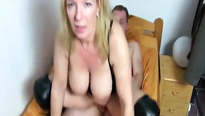 A girl having sex with a detach from