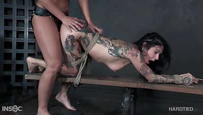 Paragon BDSM video starring hot milfs Joanna Benefactor and London River