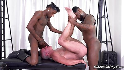 Hottest interracial joyful anal bang with Dale Savage, Deepdicc and Mr. Cali