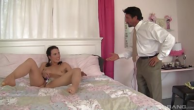 A great doggy anal scene helter-skelter leave these girls fully loaded