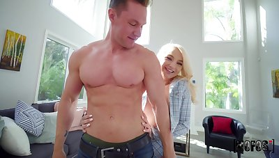Wild fucking first of all someone's skin floor with small knockers blondie Carmen Callaway