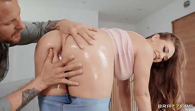 Butt fucks mommy and cums inside her mouth