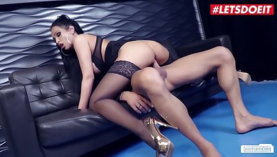 Big Titted German Secretary Fucked To Shinny up In Sexy Lingerie & Stockings - Shawn Kane