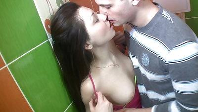 Hard scene in men's room